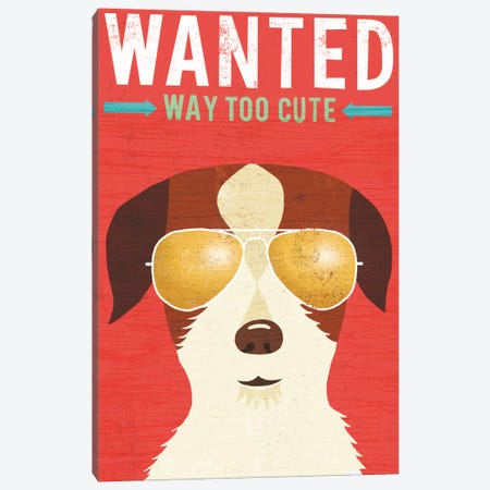 Terrier II Canvas Print #WAC6156} by Michael Mullan Canvas Art Print