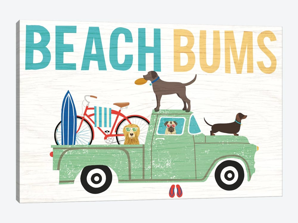Truck I by Michael Mullan 1-piece Canvas Print
