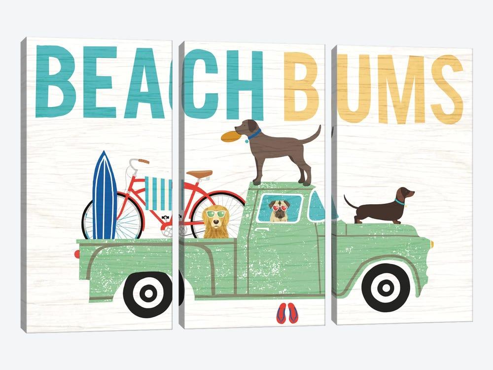 Truck I by Michael Mullan 3-piece Canvas Art Print