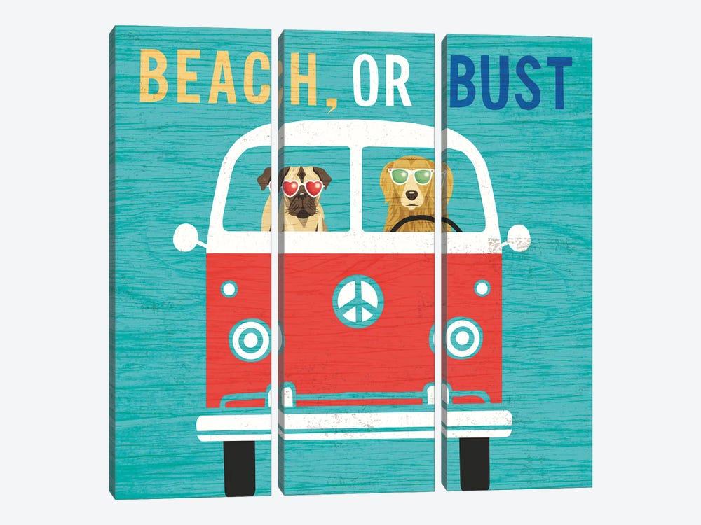 VW Bus by Michael Mullan 3-piece Art Print