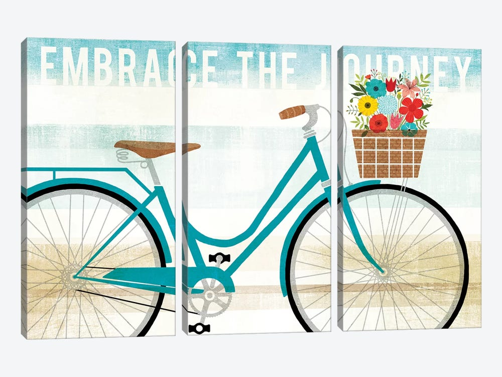 Embrace The Journey by Michael Mullan 3-piece Canvas Art Print