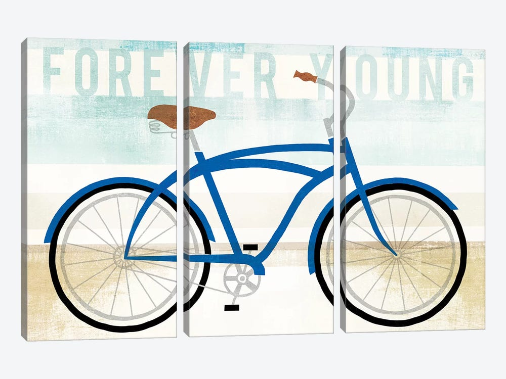Forever Young by Michael Mullan 3-piece Canvas Wall Art