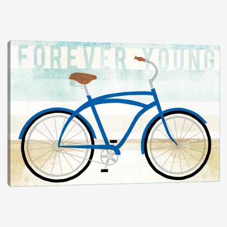 Forever Young Canvas Print #WAC6174} by Michael Mullan Art Print