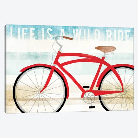 Life Is A Wild Ride Canvas Print #WAC6178} by Michael Mullan Canvas Art