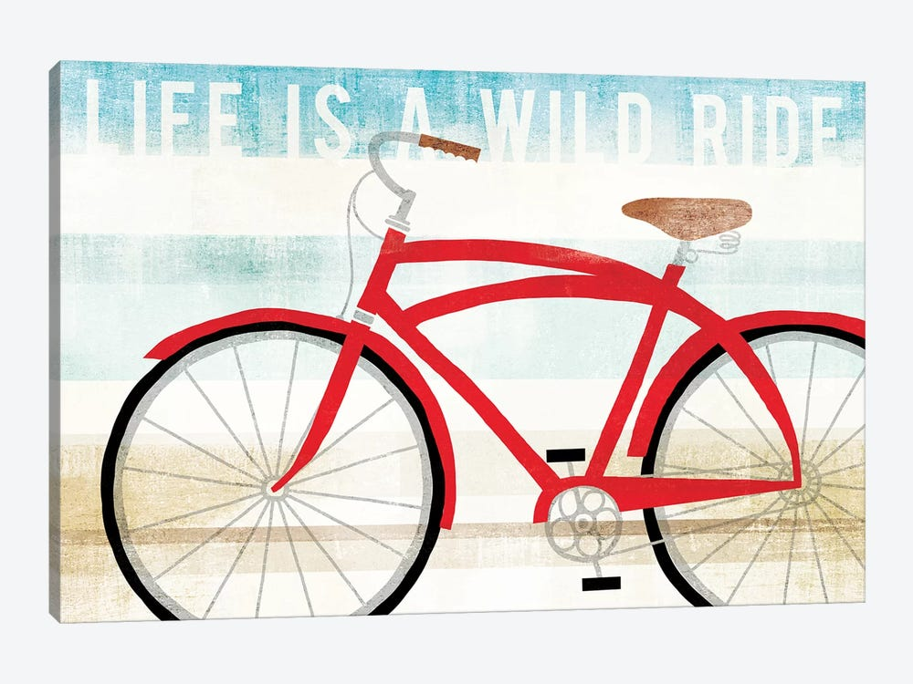 Life Is A Wild Ride by Michael Mullan 1-piece Canvas Wall Art