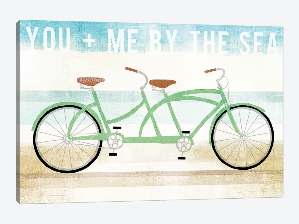 You And Me By The Sea by Michael Mullan 1-piece Canvas Art Print