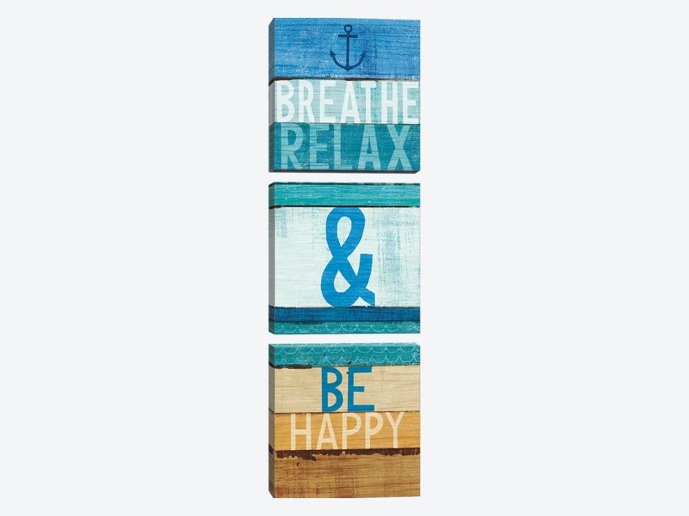 Beachscape Inspiration I by Michael Mullan 3-piece Art Print