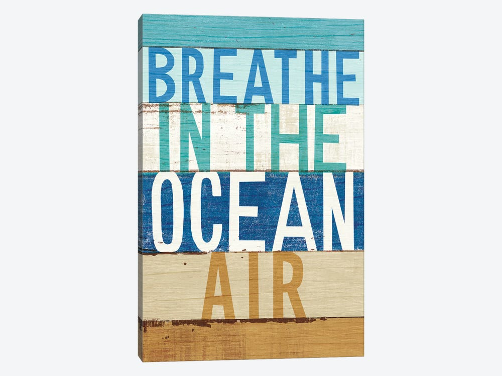 Beachscape Inspiration V by Michael Mullan 1-piece Canvas Print