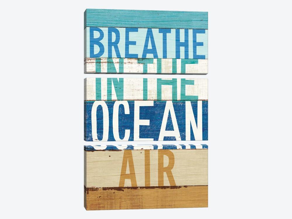 Beachscape Inspiration V by Michael Mullan 3-piece Canvas Print