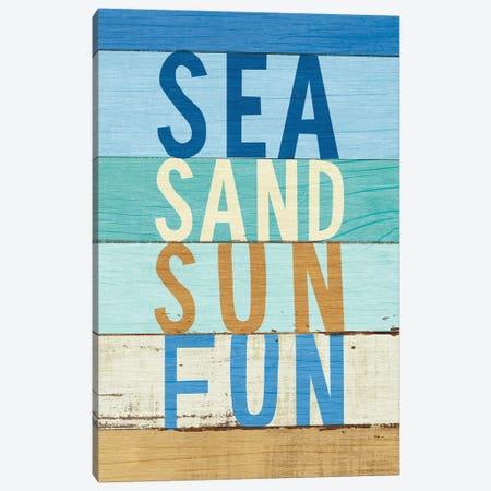 Beachscape Inspiration VIII Canvas Print #WAC6202} by Michael Mullan Canvas Artwork