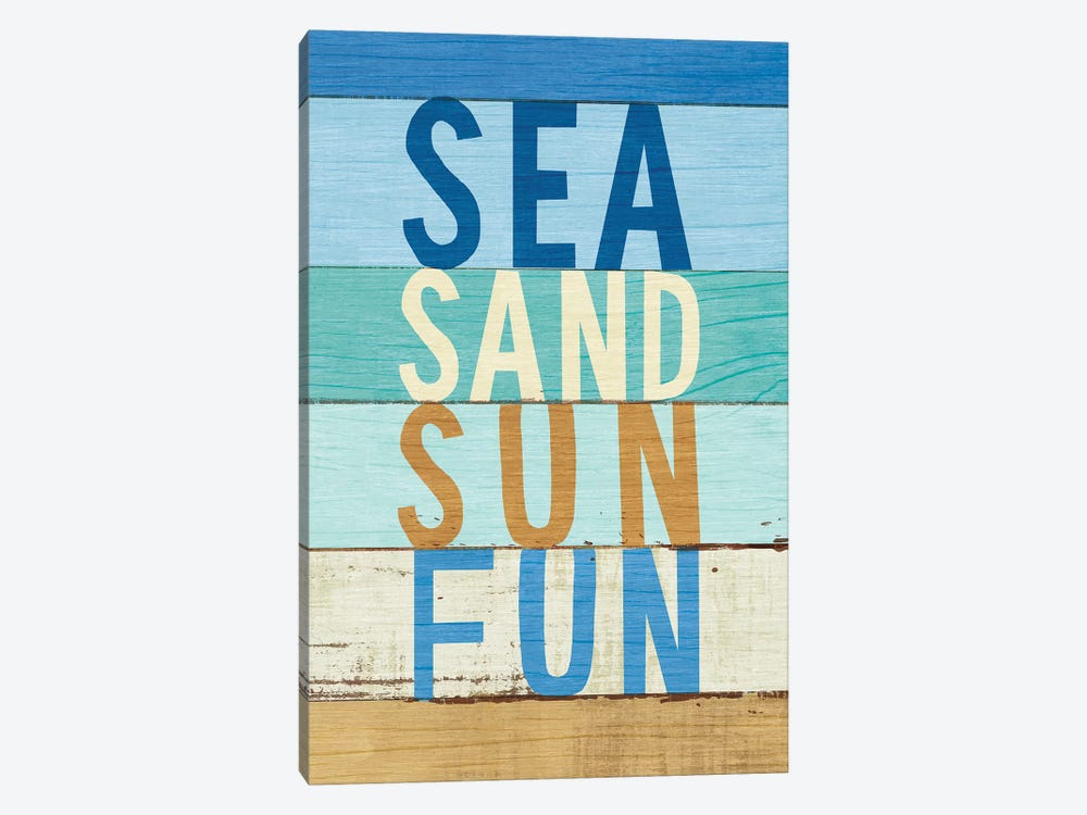 Beachscape Inspiration VIII by Michael Mullan 1-piece Canvas Art Print