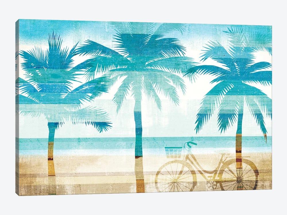 Beachscape Palms I by Michael Mullan 1-piece Canvas Wall Art