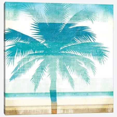 Beachscape Palms II Canvas Print #WAC6204} by Michael Mullan Canvas Art Print
