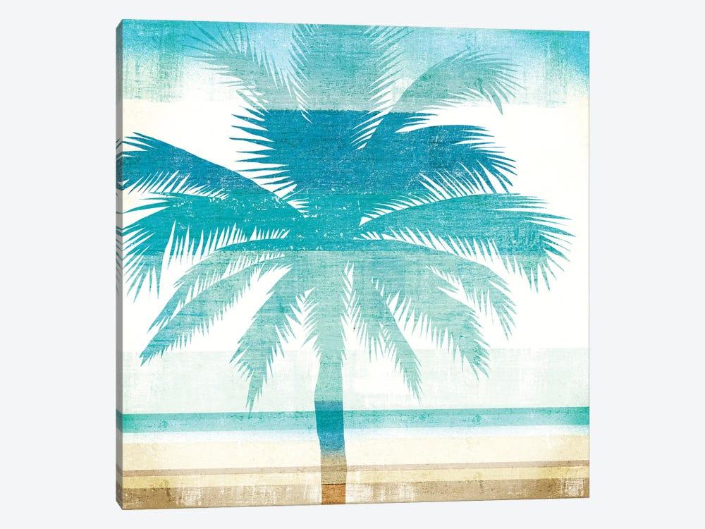 Beachscape Palms II by Michael Mullan 1-piece Art Print
