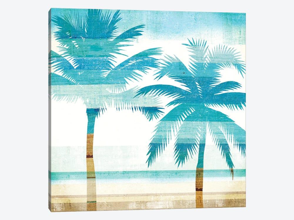 Beachscape Palms III by Michael Mullan 1-piece Canvas Wall Art