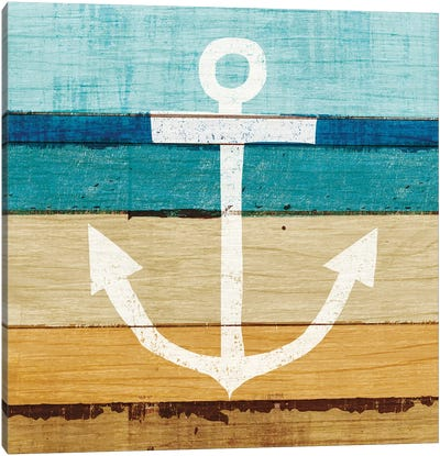 Anchor I Canvas Art Print
