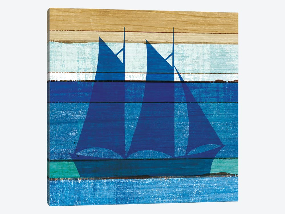 Boat I by Michael Mullan 1-piece Canvas Artwork