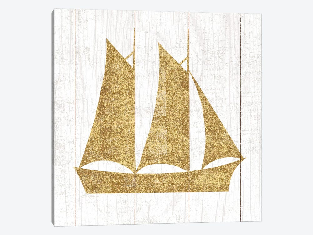 Boat II by Michael Mullan 1-piece Canvas Artwork