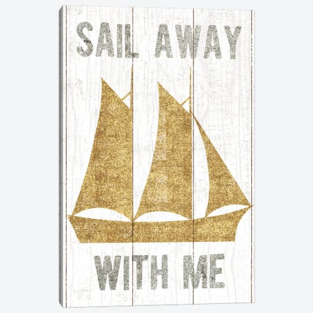 Boat III Canvas Print #WAC6211} by Michael Mullan Art Print
