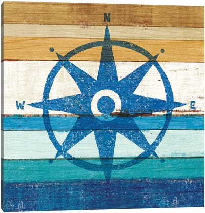 Compass I Canvas Art Print
