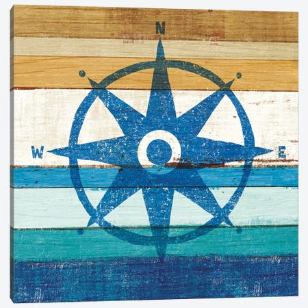 Compass I 3-Piece Canvas #WAC6217} by Michael Mullan Canvas Art