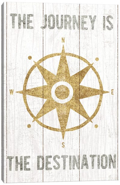 Compass III Canvas Art Print