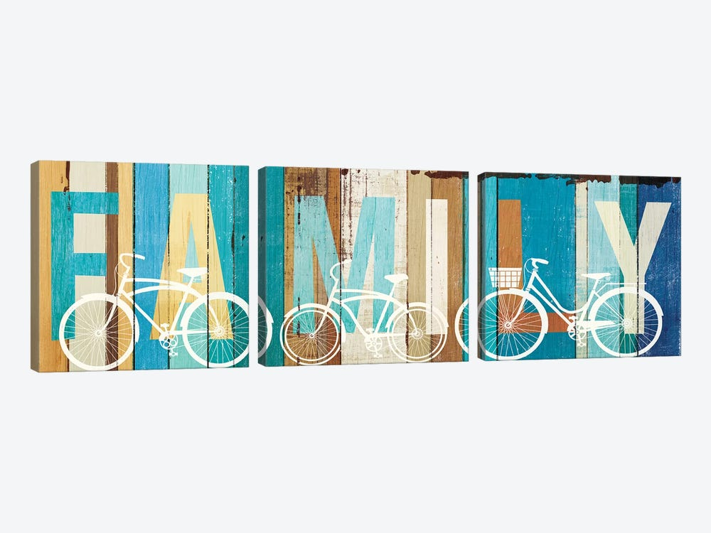 Family I by Michael Mullan 3-piece Canvas Print