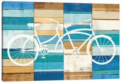 Tandem Cruiser I Canvas Art Print
