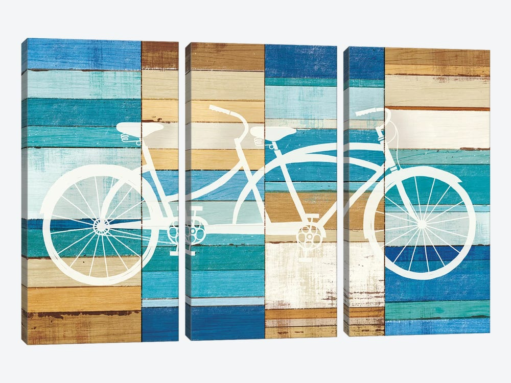 Tandem Cruiser I by Michael Mullan 3-piece Canvas Art