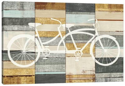 Tandem Cruiser II Canvas Art Print