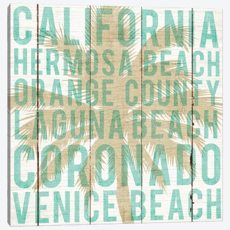 California Palm Canvas Print #WAC6236} by Michael Mullan Canvas Artwork