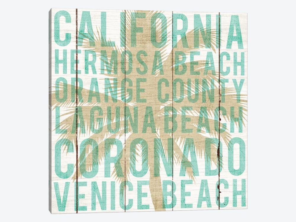 California Palm by Michael Mullan 1-piece Canvas Wall Art