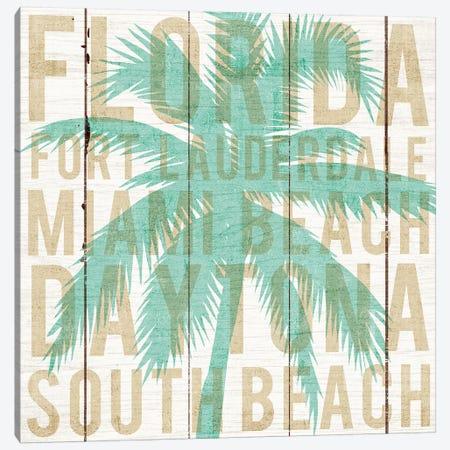 Florida Palm Canvas Print #WAC6240} by Michael Mullan Canvas Artwork