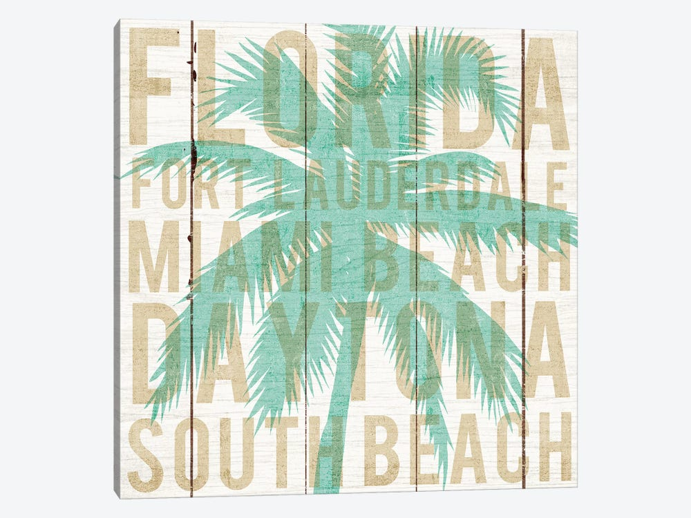 Florida Palm by Michael Mullan 1-piece Art Print