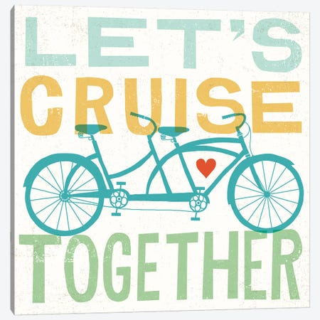 Let's Cruise Together I Canvas Print #WAC6246} by Michael Mullan Art Print