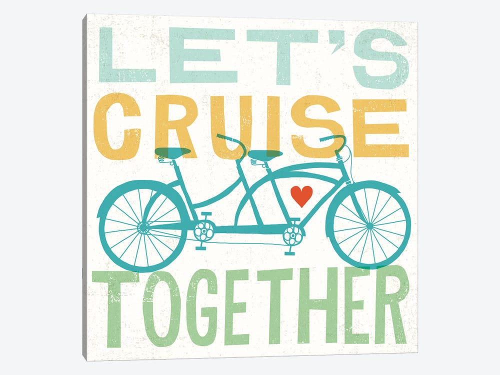 Let's Cruise Together I by Michael Mullan 1-piece Canvas Art Print
