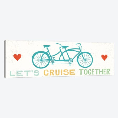 Let's Cruise Together II Canvas Print #WAC6247} by Michael Mullan Canvas Art Print