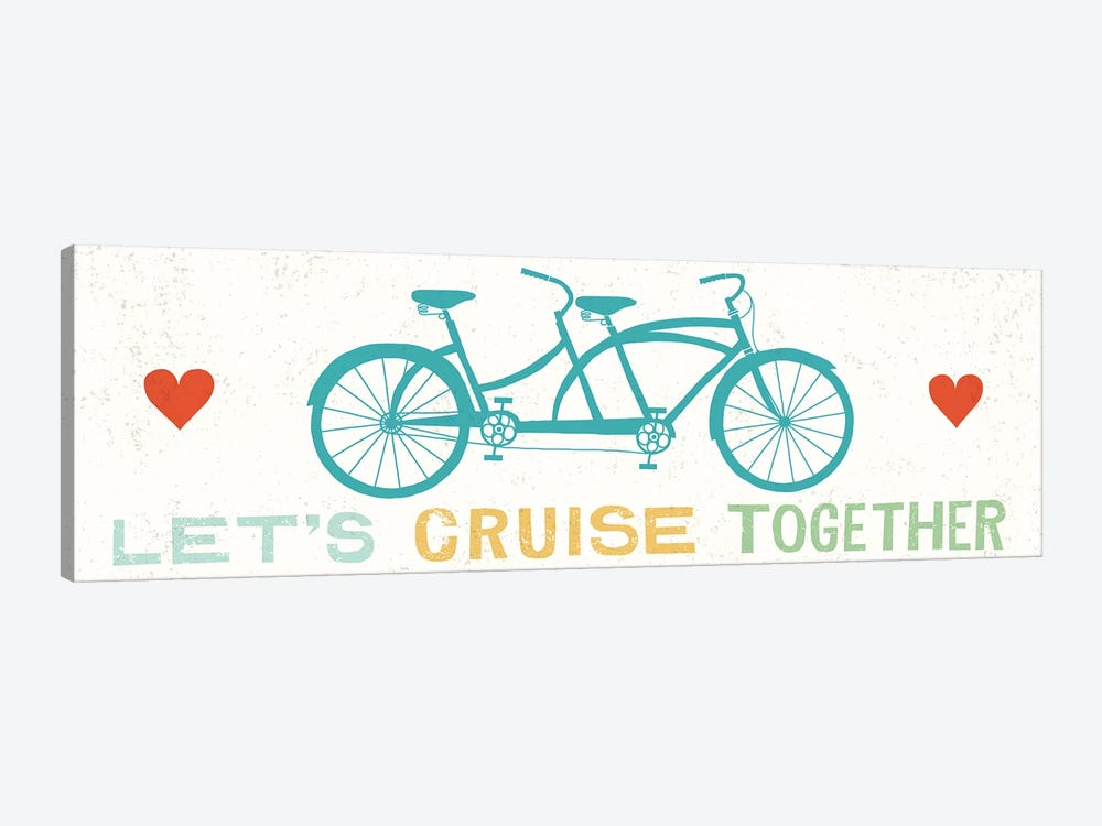 Let's Cruise Together II by Michael Mullan 1-piece Canvas Wall Art