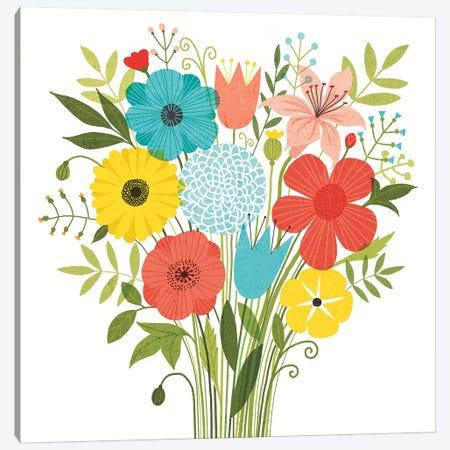 Seaside Bouquet I Canvas Print #WAC6248} by Michael Mullan Canvas Art