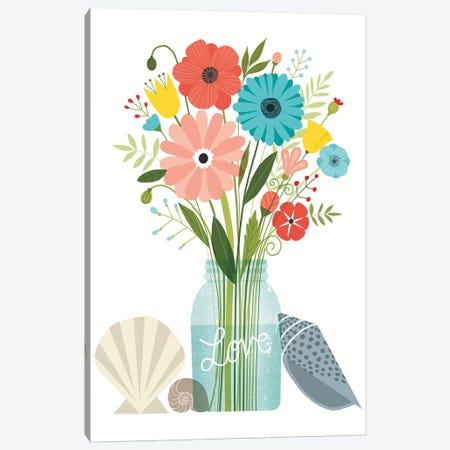 Seaside Bouquet VI Canvas Print #WAC6253} by Michael Mullan Canvas Print