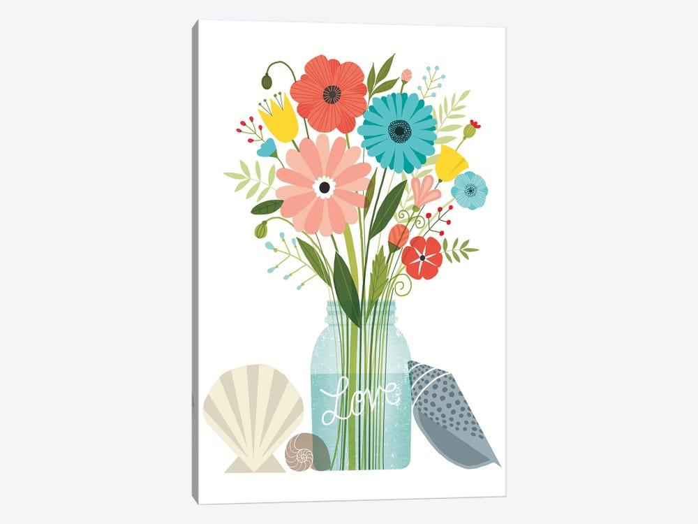 Seaside Bouquet VI by Michael Mullan 1-piece Canvas Art Print