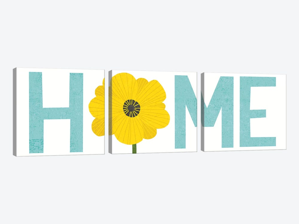 Home by Michael Mullan 3-piece Canvas Artwork