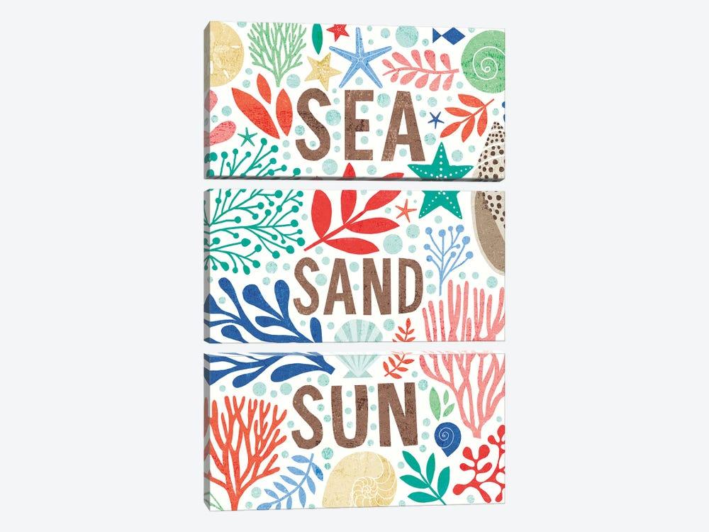 Under Sea Treasures III by Michael Mullan 3-piece Art Print