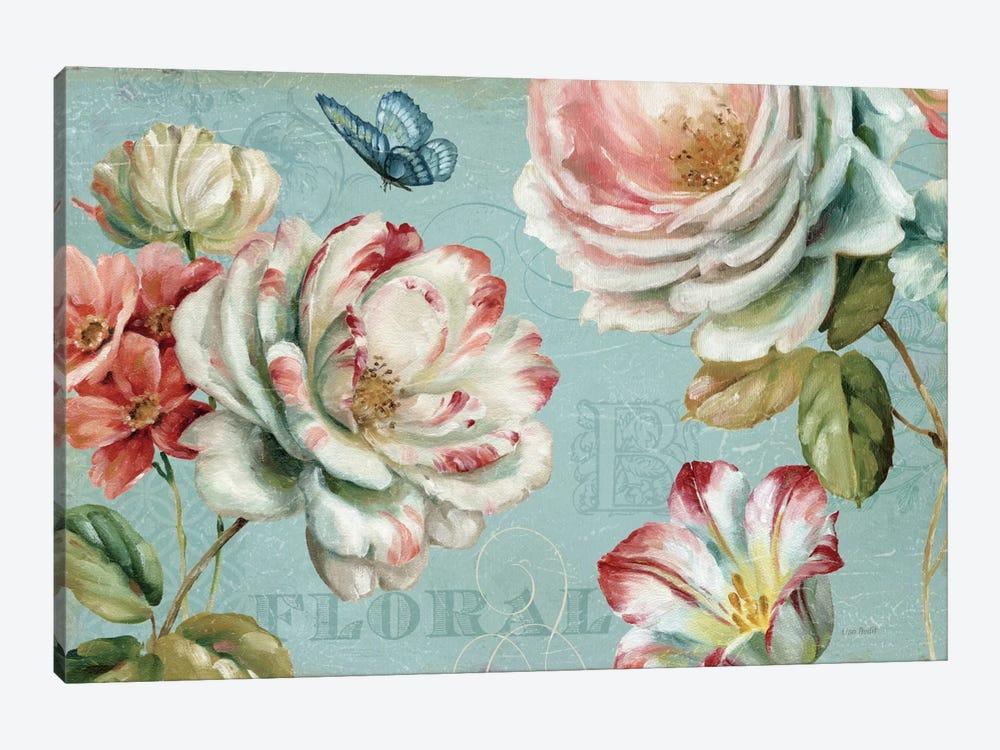 Spring Romance III by Lisa Audit 1-piece Canvas Artwork