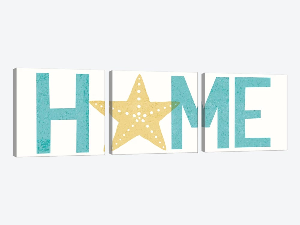Home I by Michael Mullan 3-piece Canvas Wall Art