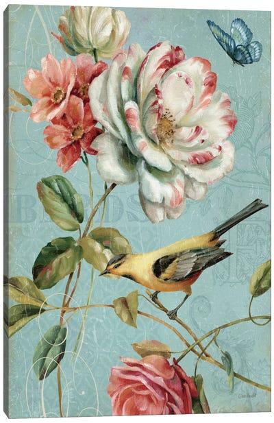 Spring Romance I Canvas Print #WAC627