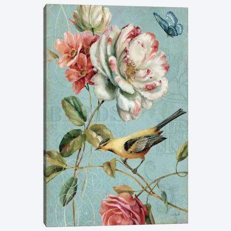 Spring Romance I Canvas Print #WAC627} by Lisa Audit Canvas Art Print