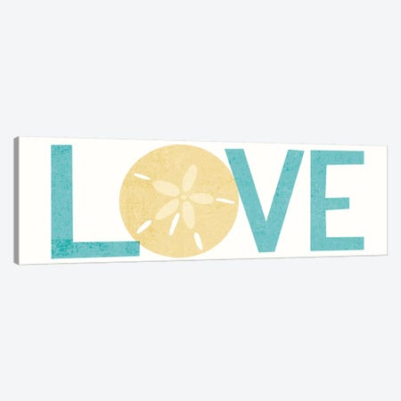 Love I Canvas Print #WAC6280} by Michael Mullan Canvas Wall Art