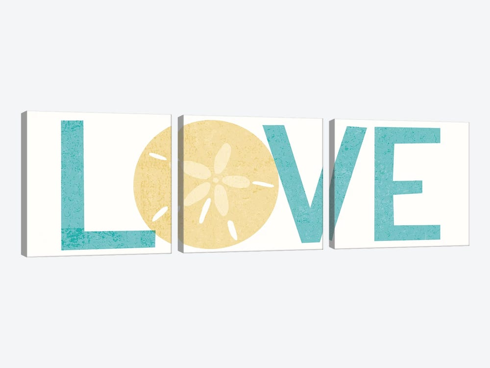 Love I by Michael Mullan 3-piece Art Print