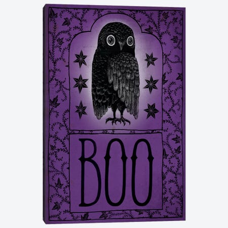Boo Canvas Print #WAC6284} by Sara Zieve Miller Art Print